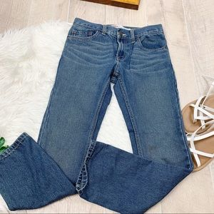 Levis 511 Skinny Leg Med Wash Denim Jeans D1353